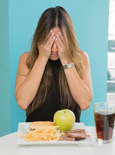 ¿Cómo combatir la ansiedad y el peso?